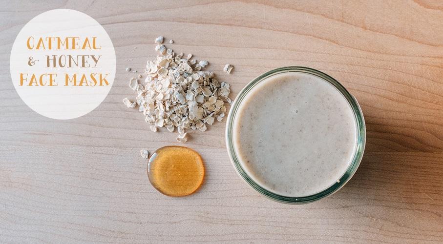 Cách chăm sóc da mụn hằng ngày bằng yến mạch và mật ong