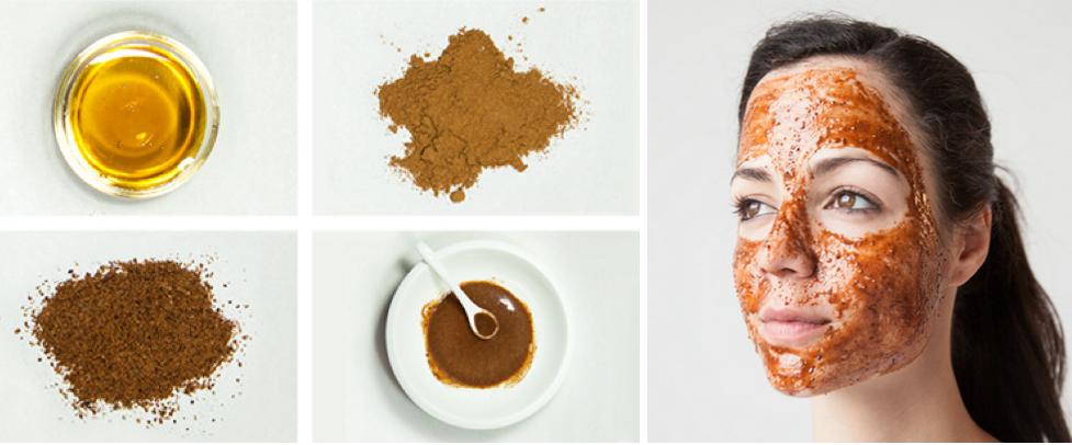 Cách trị mụn ẩn dưới da không để lại vết thâm - mặt nạ bột quế và mật ong