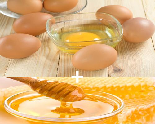 Cách trị mụn đầu đen hiệu quả với mật ong và trứng gà