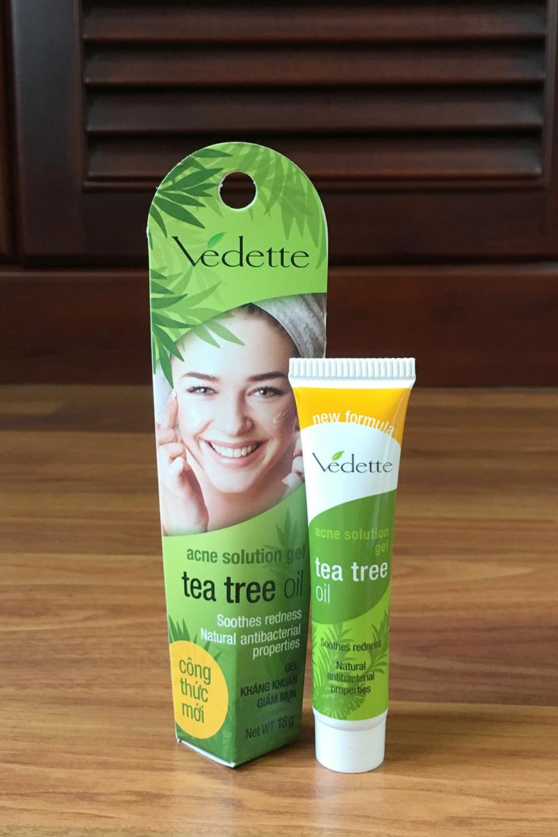 Gel kháng khuẩn Vedette Tea Tree Oi