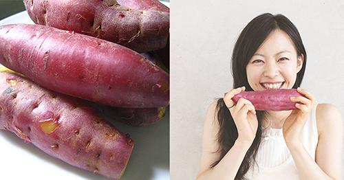 Bị mụn nên ăn khoai lang