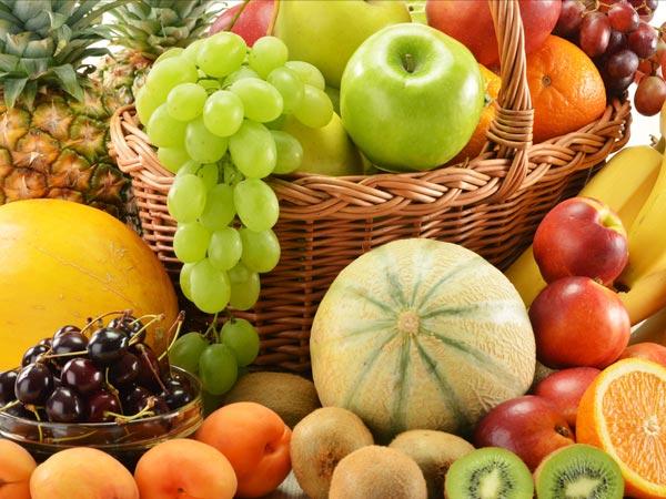 Trái cây - Chế độ ăn uống cho người bị mụn tốt nhất