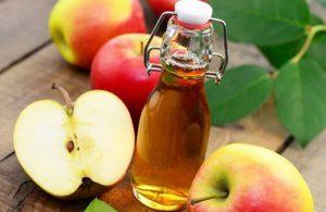giấm táo trị mụn ở ngực