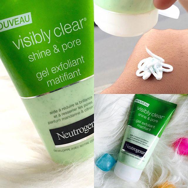 Sữa rửa mặt Neutrogena visibly clear shine & pore trị mụn