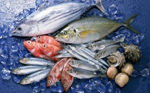 ăn cá biển phòng ngừa nổi mụn